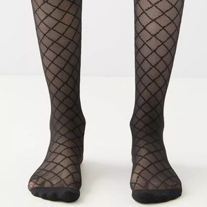 Urban Outfitters Diamond Sheer Tights